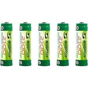 Køb Batterisæt Accu 2100mah 5 Stk. AA – Batteri