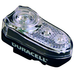 Image of   3 led forlygte duracell