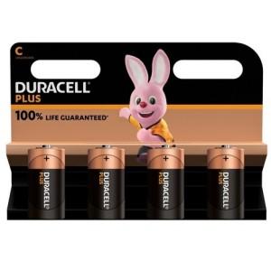 Køb Duracell Plus Power C, 4pk – Batteri