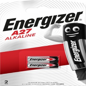 Køb Energizer Alkaline A27 2 pack – Batteri