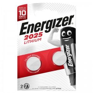 Køb Energizer Lithium Miniature CR2025 2 pack – Batteri