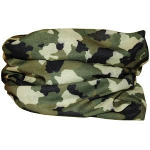 Camouflage halsedisse