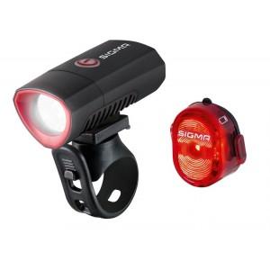 Køb Sigma Lygtesæt Buster 300 Og Nugget Ii – Cykellygte