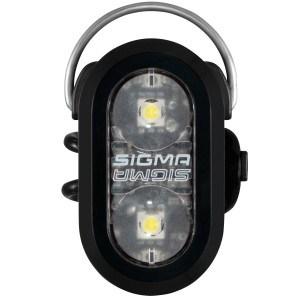Sigma Sigma Micro Duo Forlygte Og Baglygte - Sort Cykellygter Med 0||199 Lumen||Cykellygter Til Bykørsel